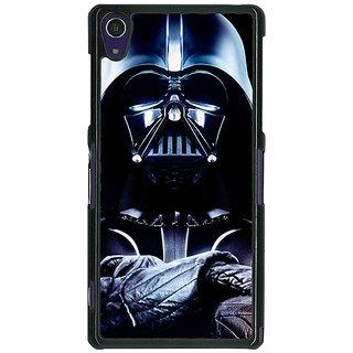 1 Crazy Designer Star Wars Darth Vader Back Cover Case For Sony Xperia Z1 C470875