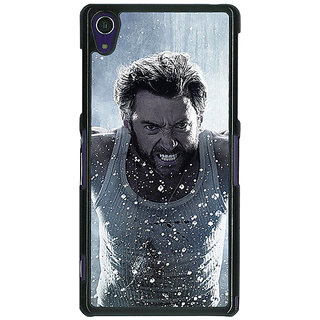 1 Crazy Designer Wolverine Hugh Jackman Back Cover Case For Sony Xperia Z1 C470896