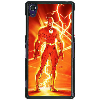 1 Crazy Designer Flash Back Cover Case For Sony Xperia Z1 C471424