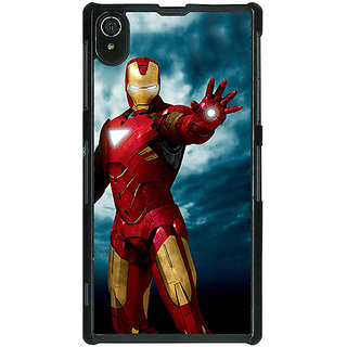 1 Crazy Designer Superheroes Ironman Back Cover Case For Sony Xperia Z2 C480031