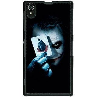 1 Crazy Designer Villain Joker Back Cover Case For Sony Xperia Z2 C480032