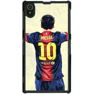 1 Crazy Designer Barcelona Messi Back Cover Case For Sony Xperia Z2 C480522