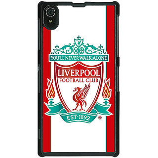 1 Crazy Designer Liverpool Back Cover Case For Sony Xperia Z2 C480544