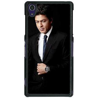 1 Crazy Designer Bollywood Superstar Shahrukh Khan Back Cover Case For Sony Xperia Z1 C470926