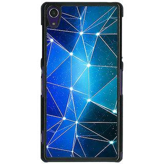 1 Crazy Designer Crystal Prism Back Cover Case For Sony Xperia Z1 C471446