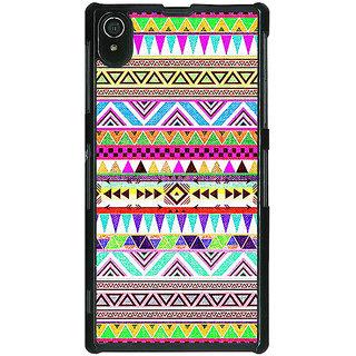 1 Crazy Designer Aztec Girly Tribal Back Cover Case For Sony Xperia Z2 C480051