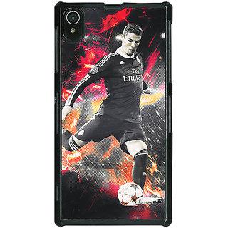 1 Crazy Designer Cristiano Ronaldo Portugal Back Cover Case For Sony Xperia Z2 C480320