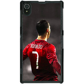 1 Crazy Designer Cristiano Ronaldo Portugal Back Cover Case For Sony Xperia Z2 C480321