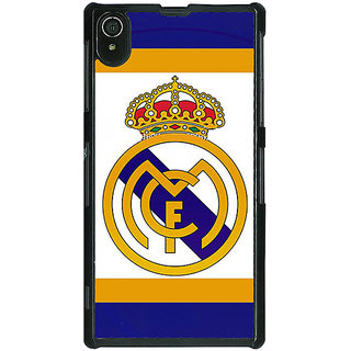 1 Crazy Designer Real Madrid Back Cover Case For Sony Xperia Z2 C480594