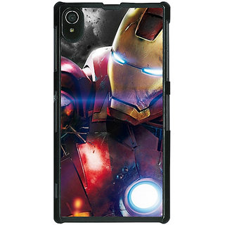 1 Crazy Designer Superheroes Ironman Back Cover Case For Sony Xperia Z2 C480882