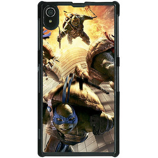 1 Crazy Designer Ninja Turtles Back Cover Case For Sony Xperia Z2 C480889
