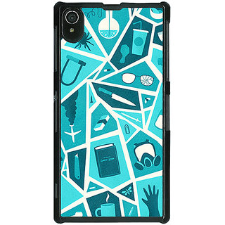 1 Crazy Designer Breaking Bad Back Cover Case For Sony Xperia Z2 C480411