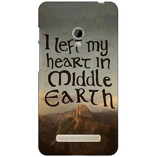 1 Crazy Designer LOTR Hobbit  Back Cover Case For Asus Zenfone 5 C490377
