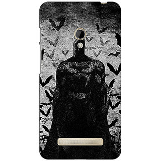 1 Crazy Designer Superheroes Batman Dark knight Back Cover Case For Asus Zenfone 5 C490008