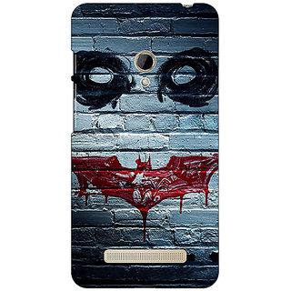 1 Crazy Designer Villain Joker Back Cover Case For Asus Zenfone 5 C490028