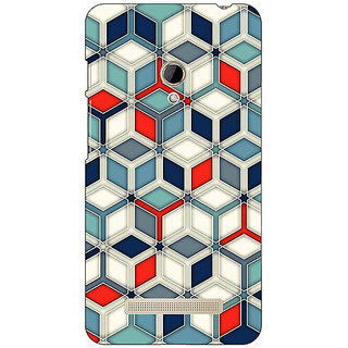 1 Crazy Designer Wild Hexagon Pattern Back Cover Case For Asus Zenfone 5 C490282