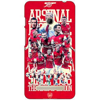 1 Crazy Designer Arsenal Back Cover Case For Asus Zenfone 5 C490518