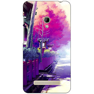 1 Crazy Designer Wonderland Back Cover Case For Asus Zenfone 5 C490735