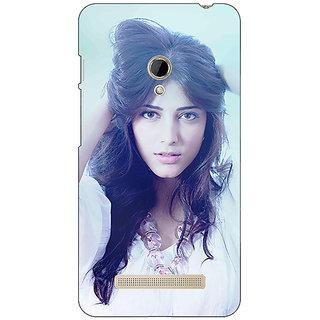 1 Crazy Designer Bollywood Superstar Shruti Hassan Back Cover Case For Asus Zenfone 5 C490988
