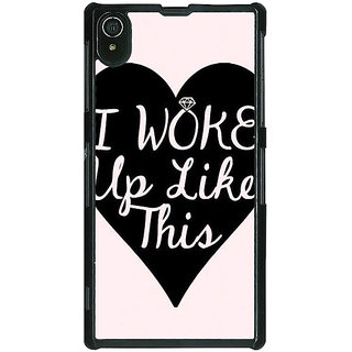 1 Crazy Designer Quotes Beautiful Back Cover Case For Sony Xperia Z2 C481189