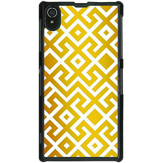 1 Crazy Designer Geometric Pattern Back Cover Case For Sony Xperia Z2 C481418