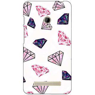 1 Crazy Designer Diamond Back Cover Case For Asus Zenfone 5 C490088