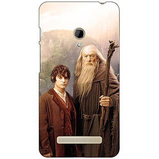 1 Crazy Designer LOTR Hobbit Gandalf Frodo Back Cover Case For Asus Zenfone 5 C490357