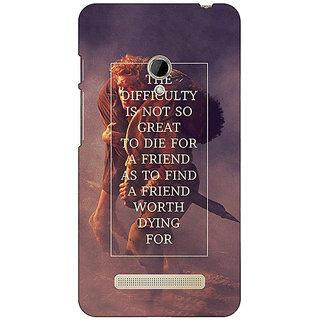 1 Crazy Designer LOTR Hobbit  Back Cover Case For Asus Zenfone 5 C490367