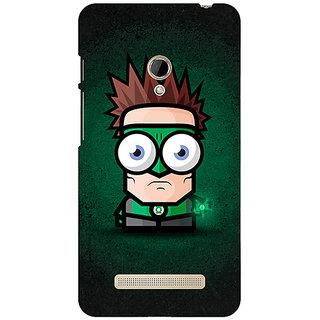 1 Crazy Designer Big Eyed Superheroes Green Lantern Back Cover Case For Asus Zenfone 5 C490399