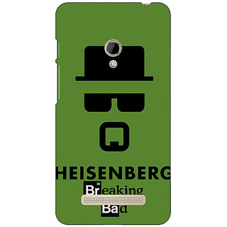 1 Crazy Designer Breaking Bad Heisenberg Back Cover Case For Asus Zenfone 5 C490414