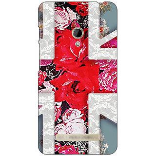1 Crazy Designer Floral Back Cover Case For Asus Zenfone 5 C490779