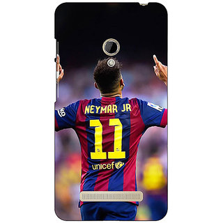 1 Crazy Designer Barcelona Neymar Back Cover Case For Asus Zenfone 5 C490527