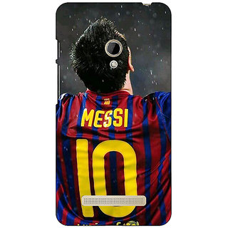 1 Crazy Designer Barcelona Messi Back Cover Case For Asus Zenfone 5 C490530