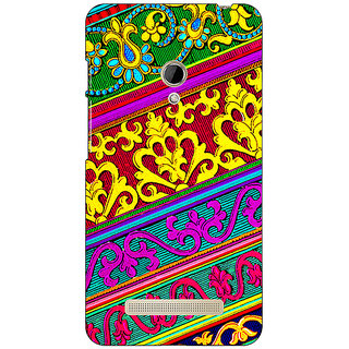 1 Crazy Designer Floral Pattern  Back Cover Case For Asus Zenfone 5 C490668
