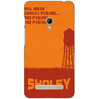 1 Crazy Designer Bollywood Superstar Sholay Back Cover Case For Asus Zenfone 5 C491125