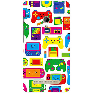 1 Crazy Designer Gamer Back Cover Case For Asus Zenfone 5 C491453