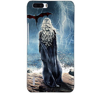 1 Crazy Designer Game Of Thrones GOT House Targaryen  Back Cover Case For Honor 6 Plus C500147