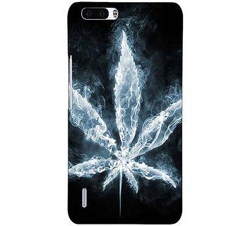 1 Crazy Designer Weed Marijuana Back Cover Case For Honor 6 Plus C500498