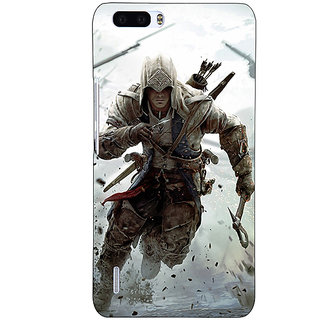 1 Crazy Designer Assassins Creed Back Cover Case For Honor 6 Plus C500841