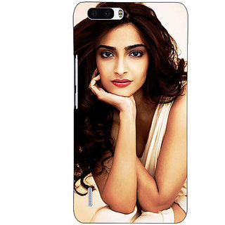 1 Crazy Designer Bollywood Superstar Sonam Kapoor Back Cover Case For Honor 6 Plus C501016