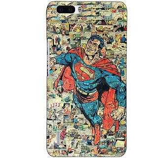 1 Crazy Designer Superheroes Superman Back Cover Case For Honor 6 Plus C500038