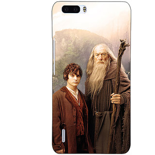 1 Crazy Designer LOTR Hobbit Gandalf Frodo Back Cover Case For Honor 6 Plus C500357