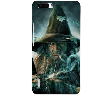 1 Crazy Designer LOTR Hobbit Gandalf Back Cover Case For Honor 6 Plus C500364