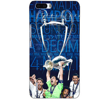 1 Crazy Designer Real Madrid La Decima Back Cover Case For Honor 6 Plus C500597
