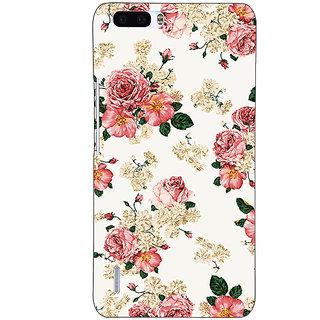 1 Crazy Designer Floral Pattern  Back Cover Case For Honor 6 Plus C500659
