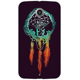 1 Crazy Designer Dream Catcher  Back Cover Case For Google Nexus 6 C510192