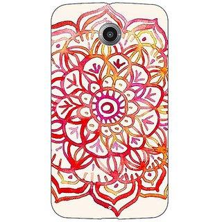 1 Crazy Designer Flower Floral Pattern Back Cover Case For Google Nexus 6 C510204