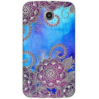 1 Crazy Designer Girly Floral Pattern Back Cover Case For Google Nexus 6 C510208