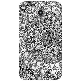 1 Crazy Designer Black And White Doodle Pattern Back Cover Case For Google Nexus 6 C510215