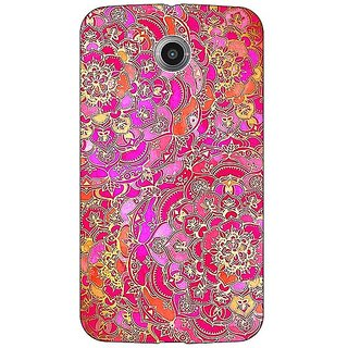 1 Crazy Designer Hot Floral  Pattern Back Cover Case For Google Nexus 6 C510241